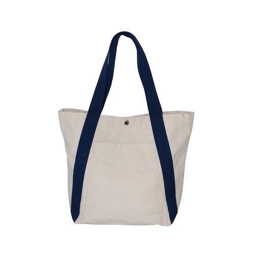 12 Oz Natural Canvas Bag With Web Handle