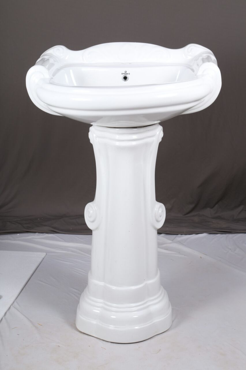 Ceramic White Big Sterling Wash Basin