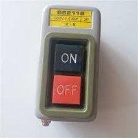 BS211B, BS216B, BS230B 3P AC Motor On Off Switch,Self-Locking On/Off Power Push Button Switch 220V/380V