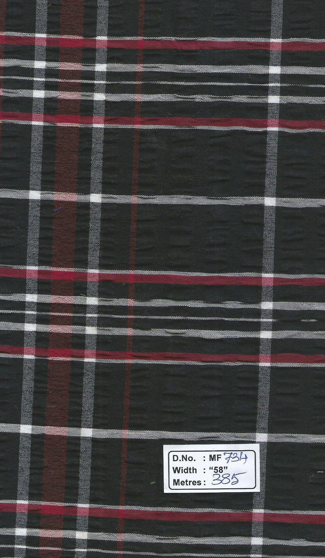 seersucker 100% cotton fabrics