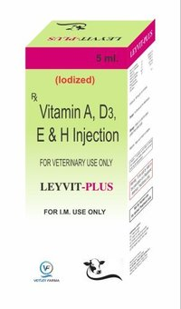 Vitamin A+D3+E + H Injection