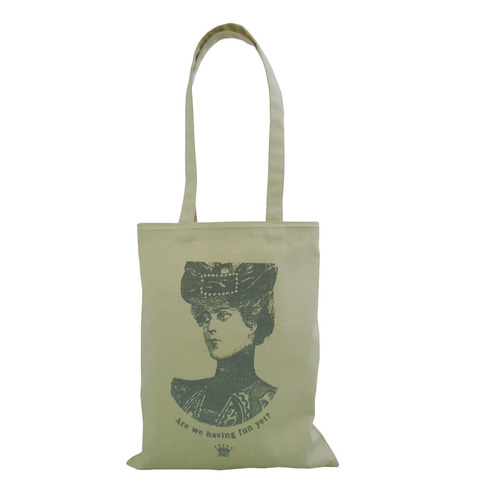 10 Oz Natural Canvas Tote Bag With Long Handle