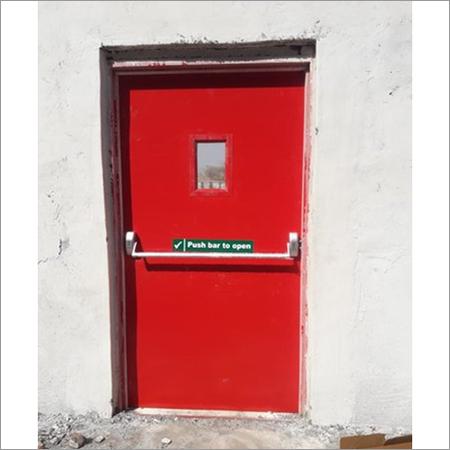 Emergency Exit Fire Resistant Door