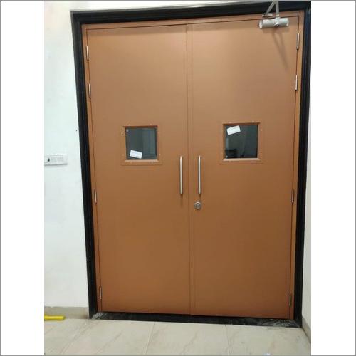 Powder Coated Metal Door