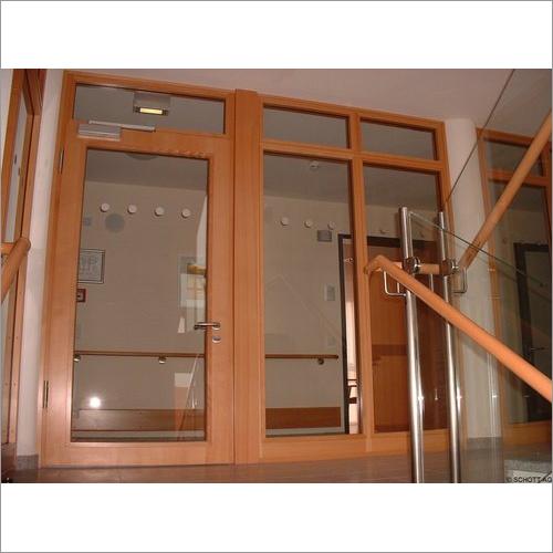 Fire Resistant Glass Door