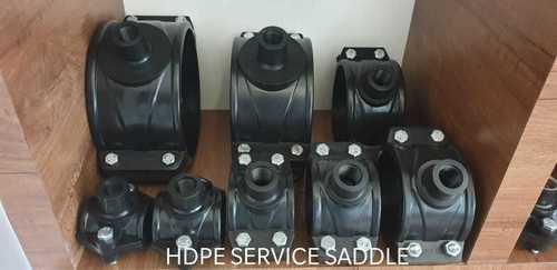 HDPE BLACK SERVICE SADDLES