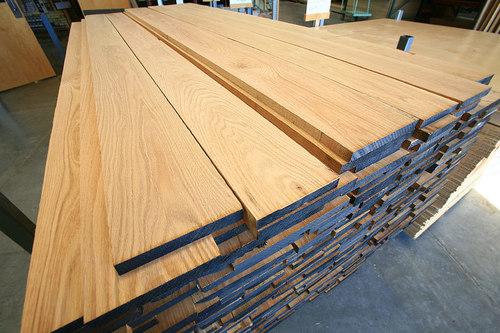 Oak Timber Type S4S Plane Timber / Unedged Oak Tmber / White Spruce Lumber