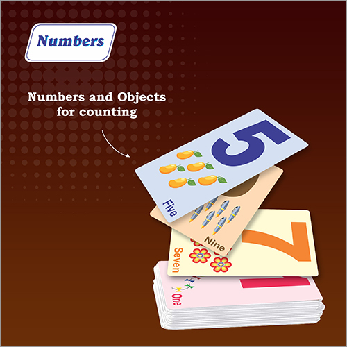 Kids Alphabets and Numbers Flash Cards