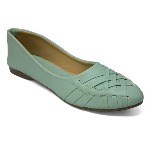 Fancy Jutti For Woman (Sea Green)