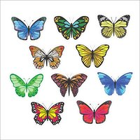 Butterfly Profile Cutter Bookmark