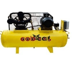 Air Compressor Two Stage, Base Mount, CAT100T