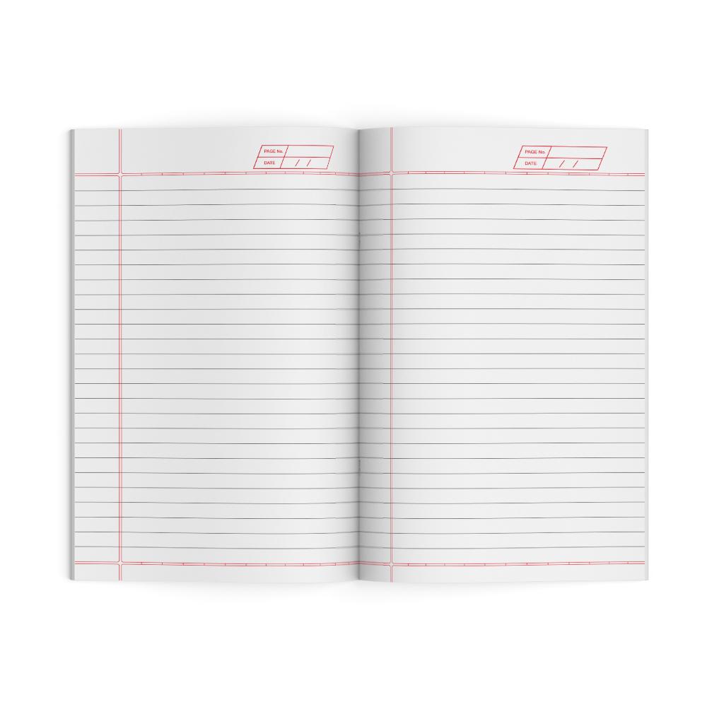 Sundaram Winner Brown Original Long Book - 172 Pages (L-26B)
