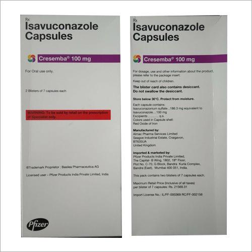 Isavuconazole Capsule