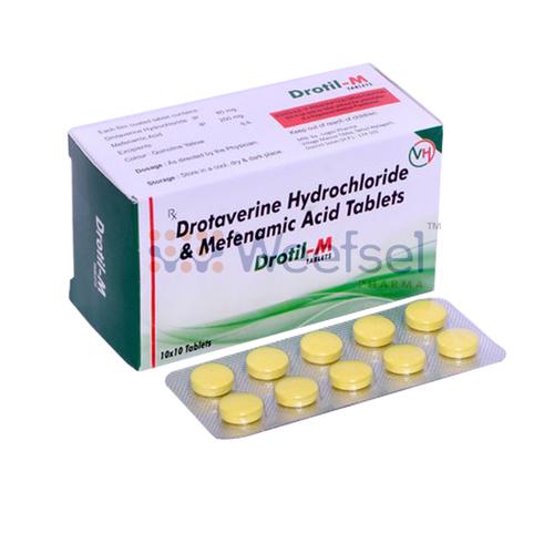 Drotaverine and Mefenamic Acid Tablets