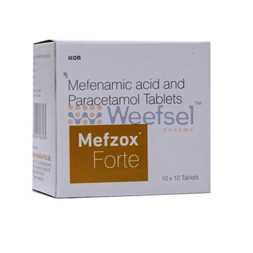 Mefenamic Acid and Paracetamol Tablets