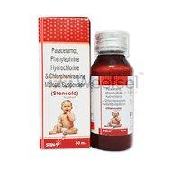 Paracetamol, Phenylephrine and Chlorpheniramine Suspension
