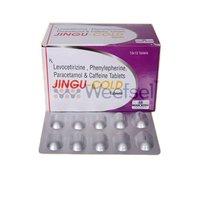 Paracetamol, Phenylephrine, levocetirizine and Caffeine Tablets