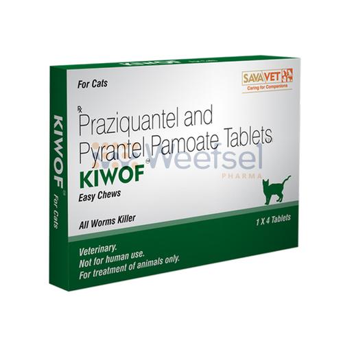 Praziquantel and Pyrantel Pamoate Tablets