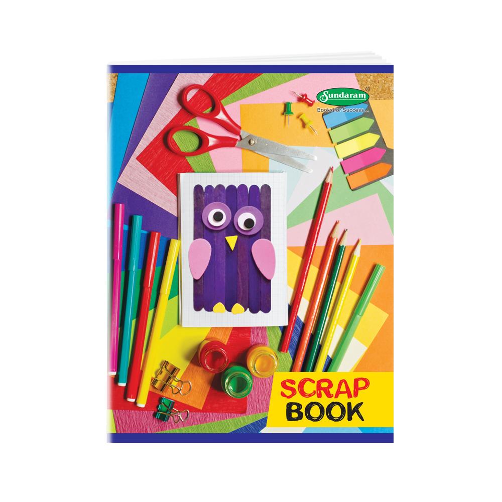 Sundaram Scrap Book - 32 Pages (M-9)