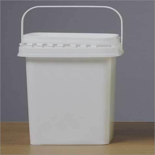 5 Ltr Plastic Square Container