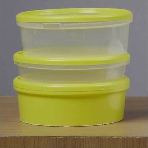 Plastic Choclate And Jeggry Container