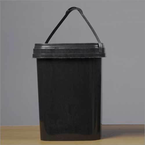 Plastic Black Bucket