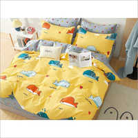 Cartoon Printed Double Bed Sheet