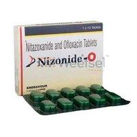 Nitazoxanide and Ofloxacin Tablets