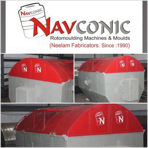 Capsule Type Roto moulding Machine
