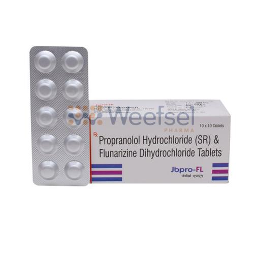 Propranolol and Flunarizine Tablets