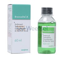 Ambroxol, Terbutaline, Guaiphenesin and Menthol Syrup