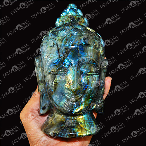 Prayosha Crystals Buddha Head