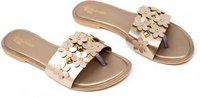Ladies  Copper Flats Sandal