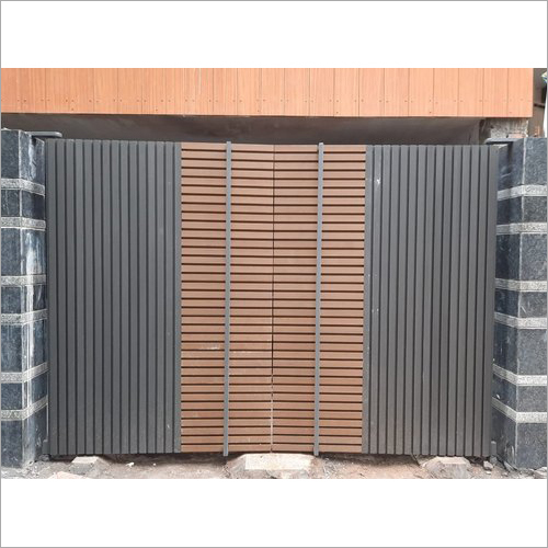 Wpc Louvers Exterior Wall Cladding