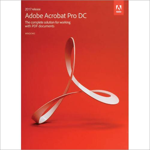 Adobe Acrobat Pro Software