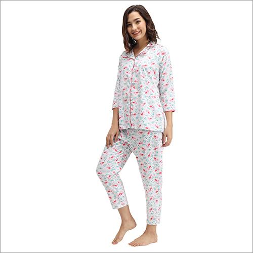 Ladies Printed Night Suit