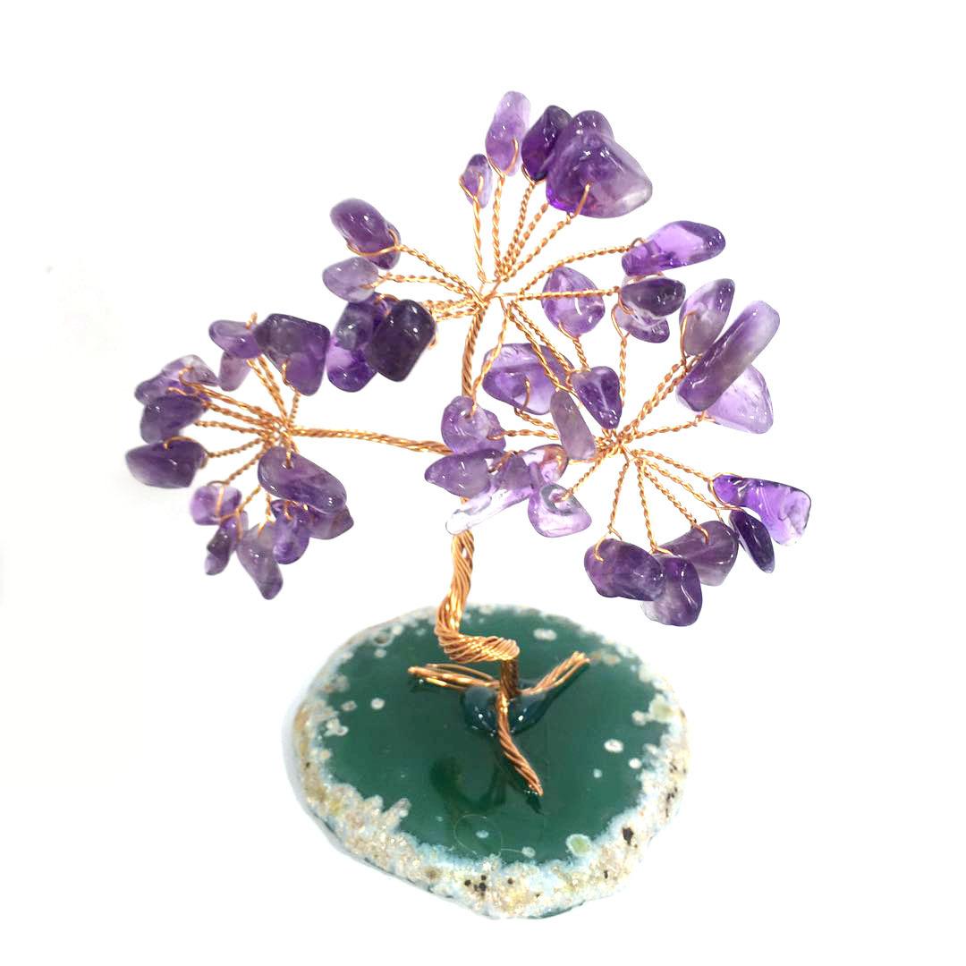 Agate Gemstone Tree