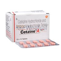 Cetrizine and Ambroxol Tablets