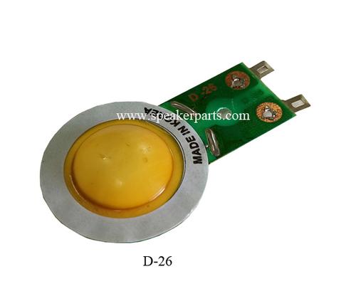 D-26 Diaphragms