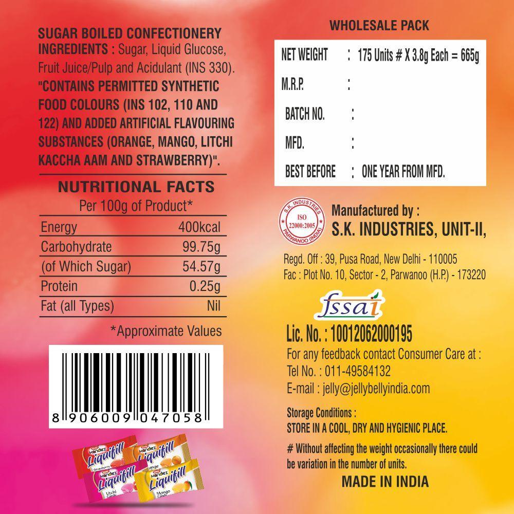 Mahak kandiez- Liquifill Assorted Jar (300 Pcs)