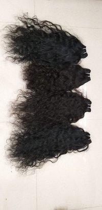Curly Hair Machine Weft