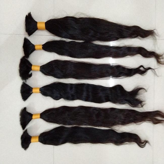 Remy Single Drawn Builk Hair