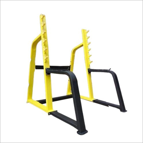 38 Inch Cast Iron Gym Rod Rack And Stand