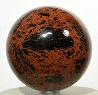 Prayosha Crystals Mahogany Obsidian Ball