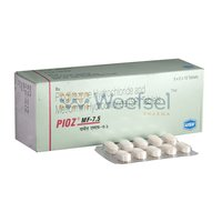 Pioglitazone and Metformin Tablets