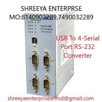 USB To 4-Serial Port RS-232 Converter