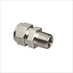 Double Ferrule Compression Fitting
