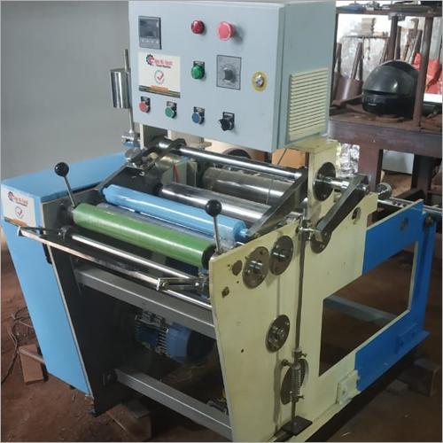 Aluminium foil rewinding roll machine
