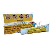 Beclomethasone, Gentamicin and Clotrimazole Cream