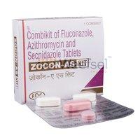 Fluconazole, Azithromycin and Secnidazole Tablets (Combi kit)